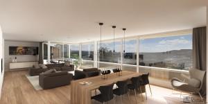 Intérieur Penthouse