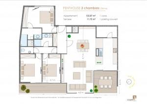 Penthouse 3ch 3éme